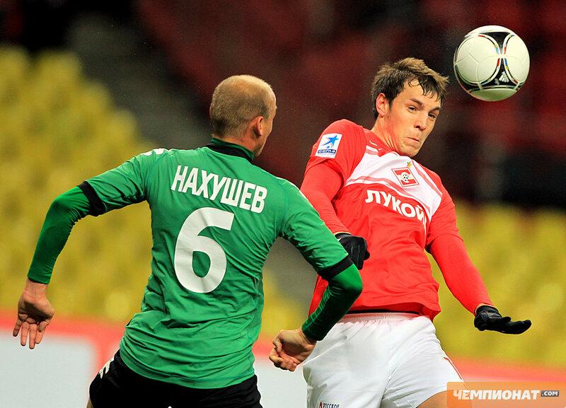 «Спартак» vs «Краснодар» 2:0 Премьер-лига 2012-2013 (Фото)