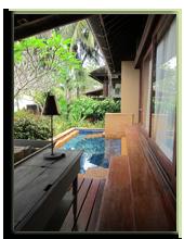 Малайзия. Лангкави. Four Seasons Resort Langkawi. Beach Villa exterior