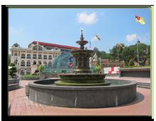 Малайзия. Куала-Лумпур. Площадь Независимости (Dataran Merdeka)