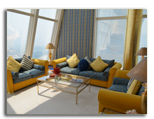 ОАЭ. Дубаи. Burj Al Arab. Panoramic Suite 1-Bedroom