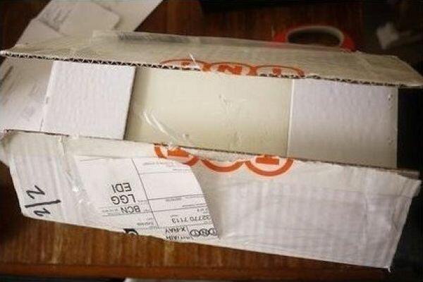 Посылка из Японии