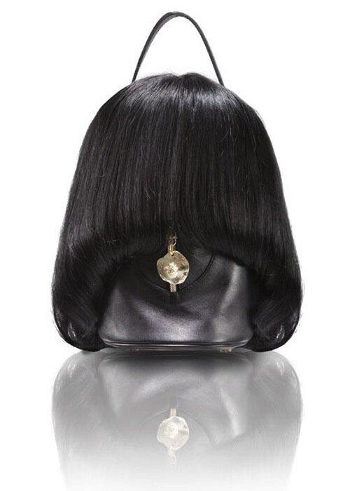 Женские сумочки из человеческих волос
