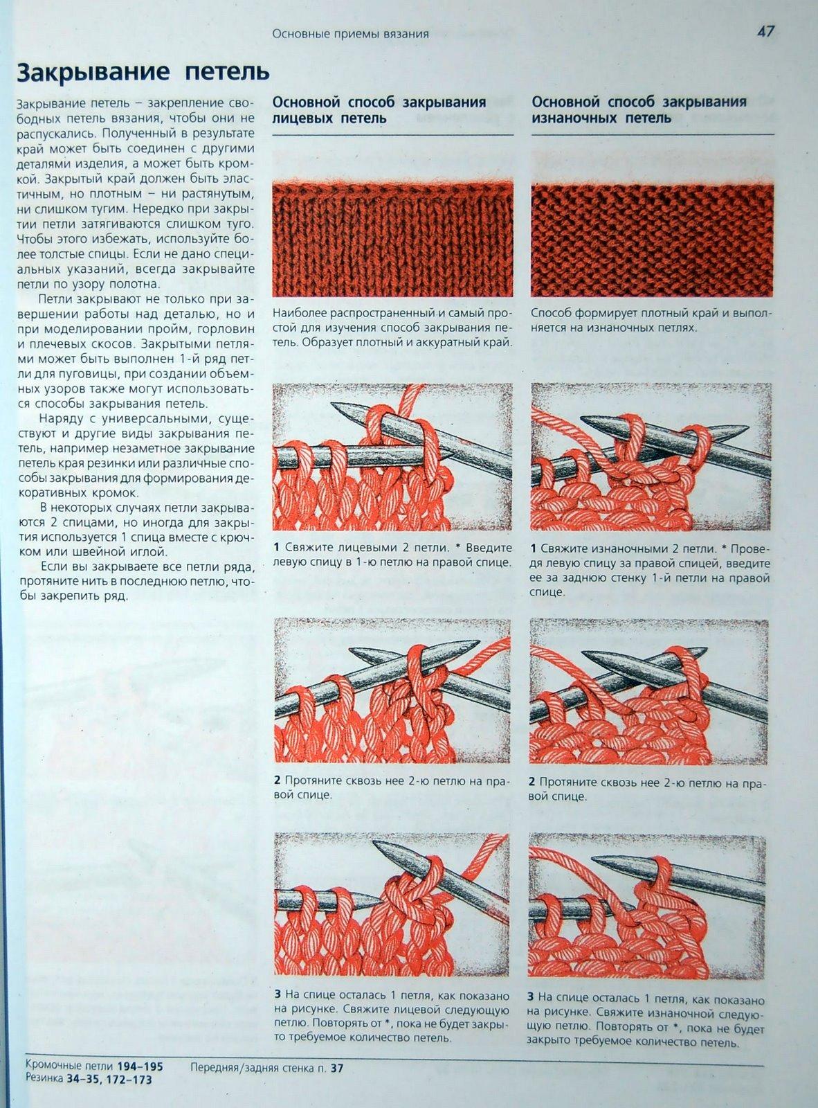 шапочка сов нок схема вязания