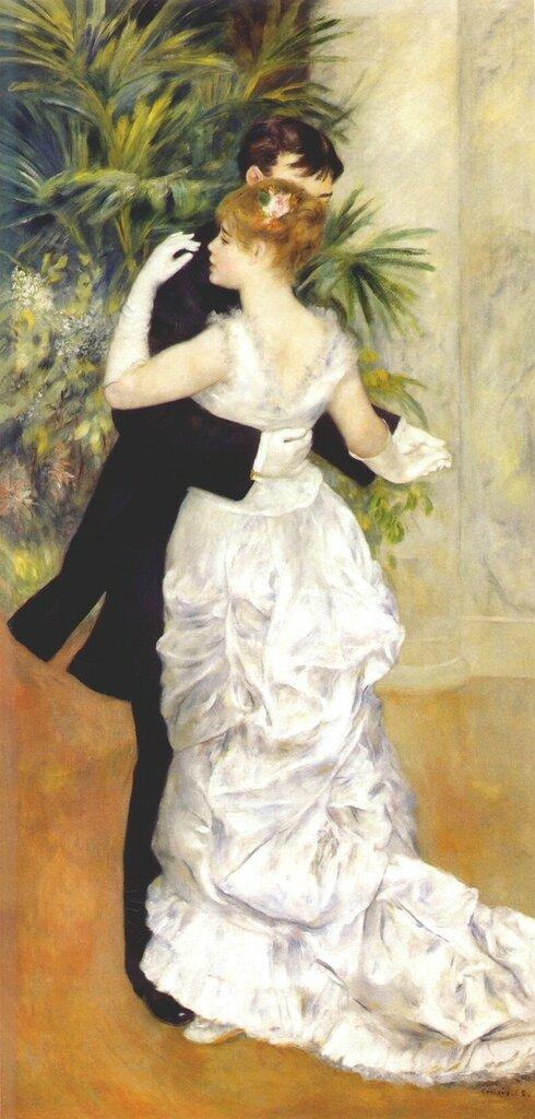 Танцы в городе 1883г 90х180см