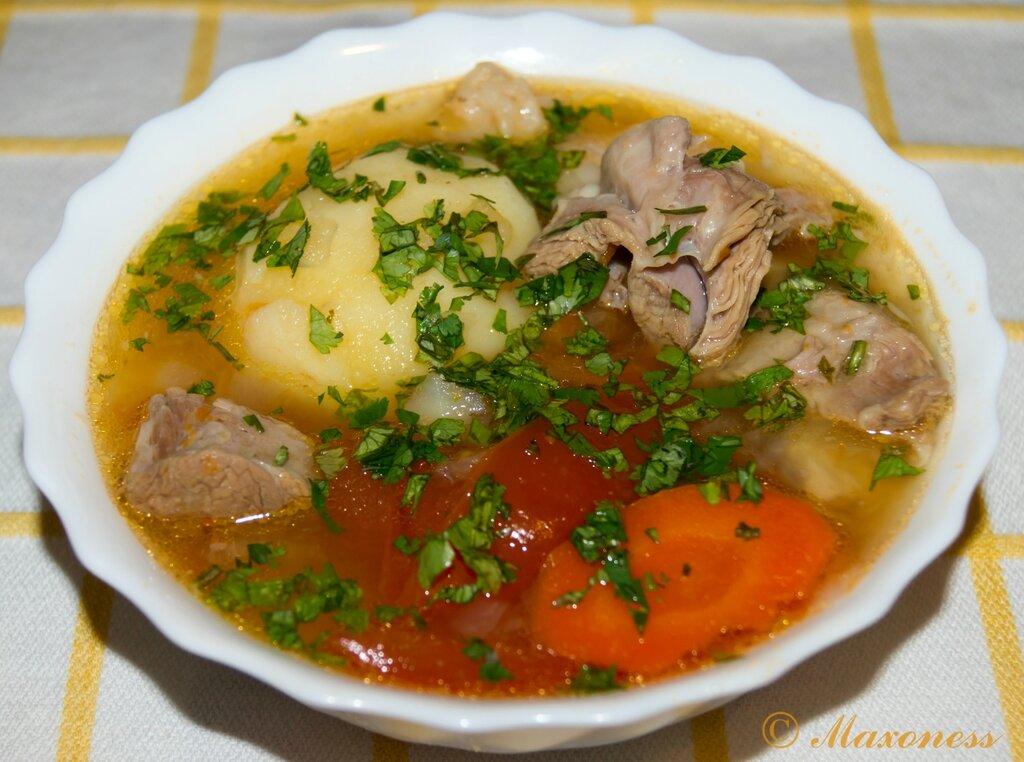 Шурпа-кайнатма. Узбекская кухня