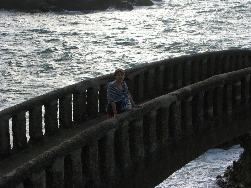 Вольта на мостике в Биаррице