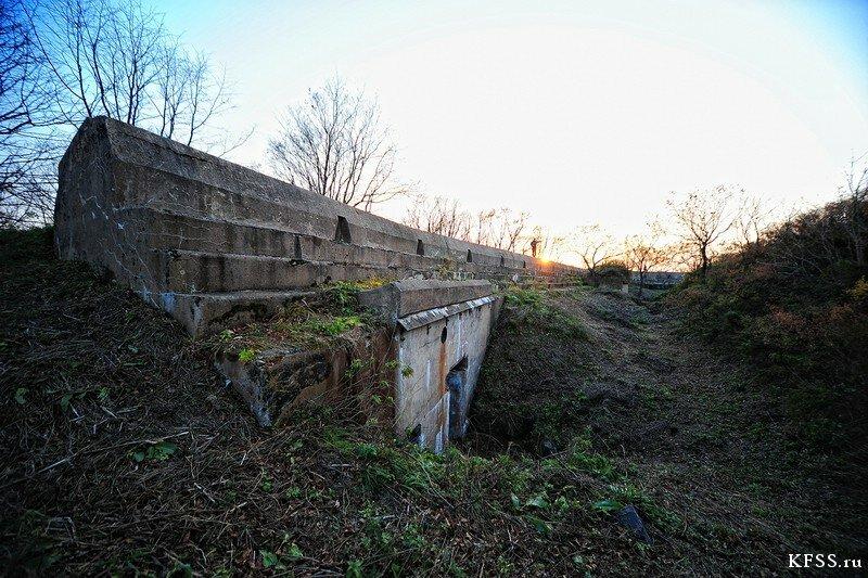 Форт №12 Владивостокской крепости kfss вход в подбрустверку