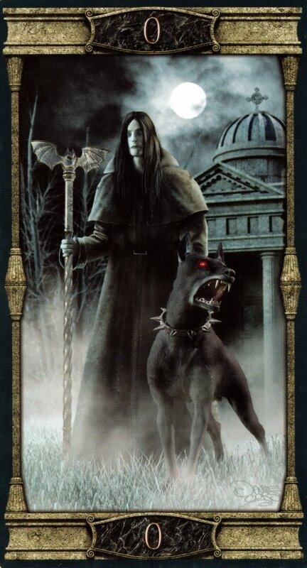 Карты Таро Вечная Ночь Вампиров/ Vampires Tarot of the Eternal Night