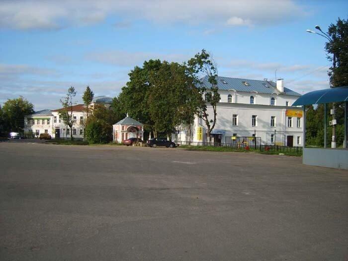 Верея, центр города