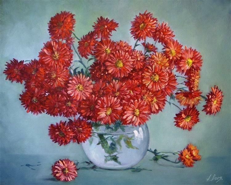 Александр Воля. Красные цветы.jpg