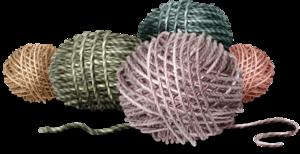 клубки ниток