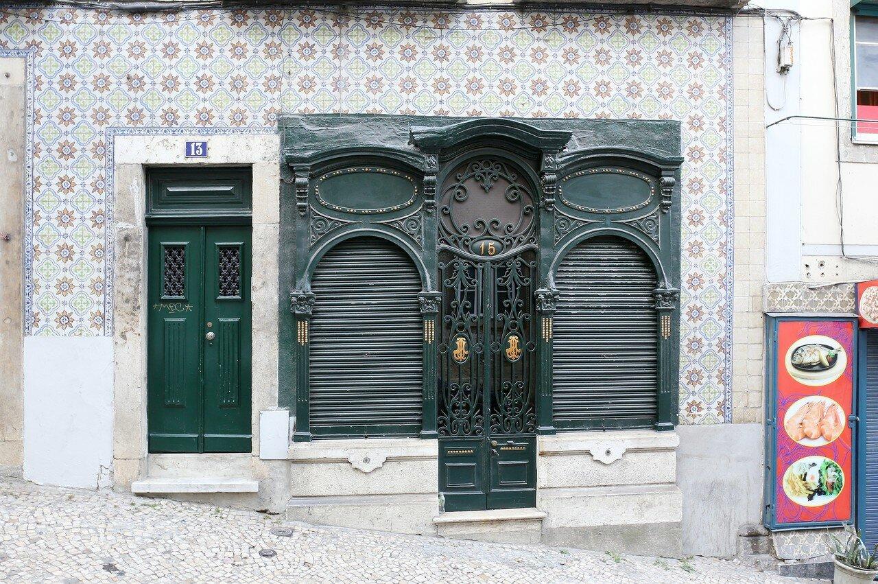 Lisbon. Calçada de Santo André