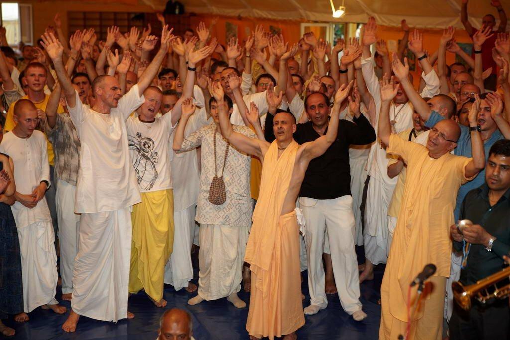 На фестивале Харе Кришна