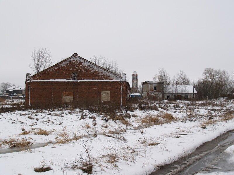 Колокольня разрушенной Богоявленской церкви