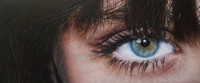 Гиперреалистичные портреты людей в очках