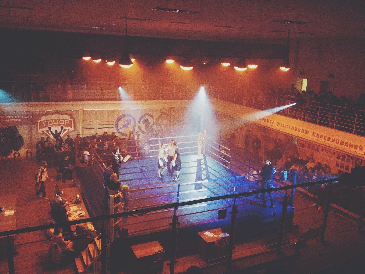 Андрей Исаев и Фирдавс Азимитджонов / Вечер профессионального бокса в Гомеле