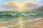 Рассвет над морем