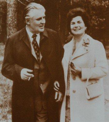 Щербицкий с женой