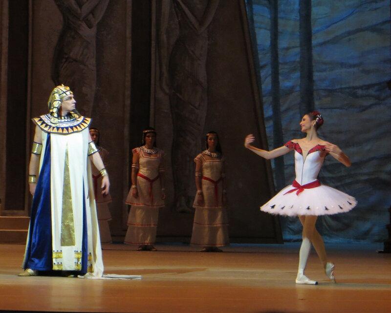 Андрей Ситников - Светлана Захарова, дочь фараона большой театр, билеты дочь фараона