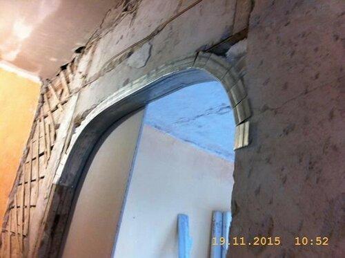 На Ленинградской делаем арку