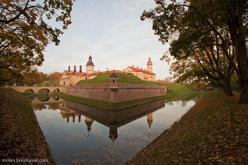 Несвижский замок - родовое гнездо Радзивиллов