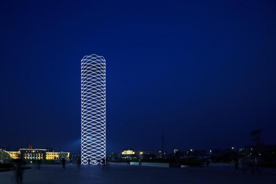 Городская архитектура от китайских умельцев в Тяньцзинь