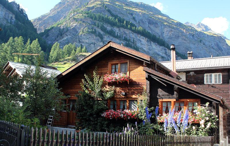 Швейцарская деревушка
