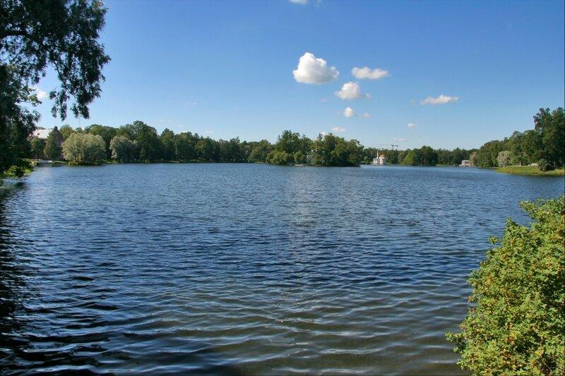 Екатерининский парк, Большой пруд