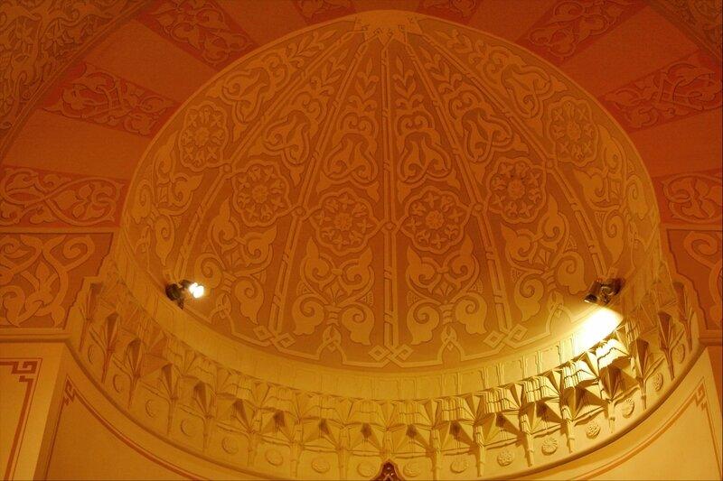 Турецкая баня в Екатерининском парке, свод в Купольном зале