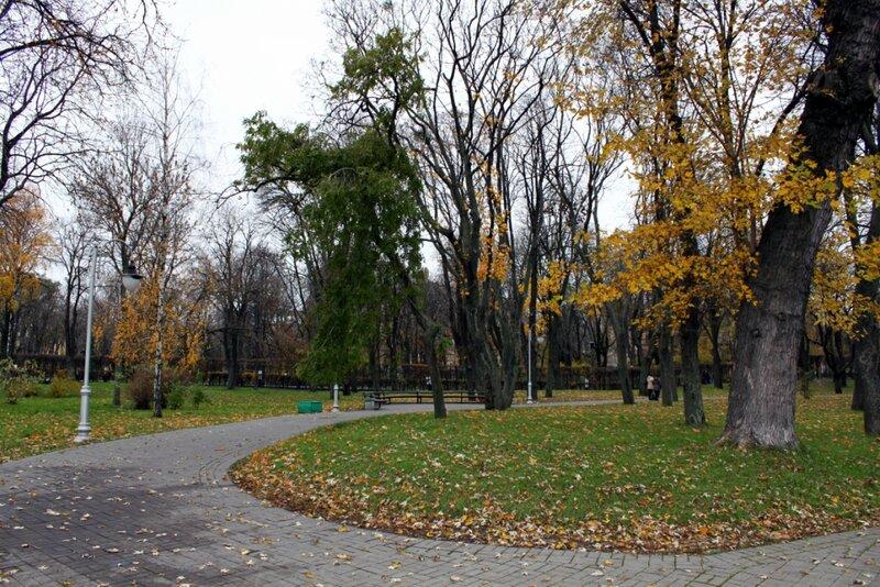 Уголок парка Славы