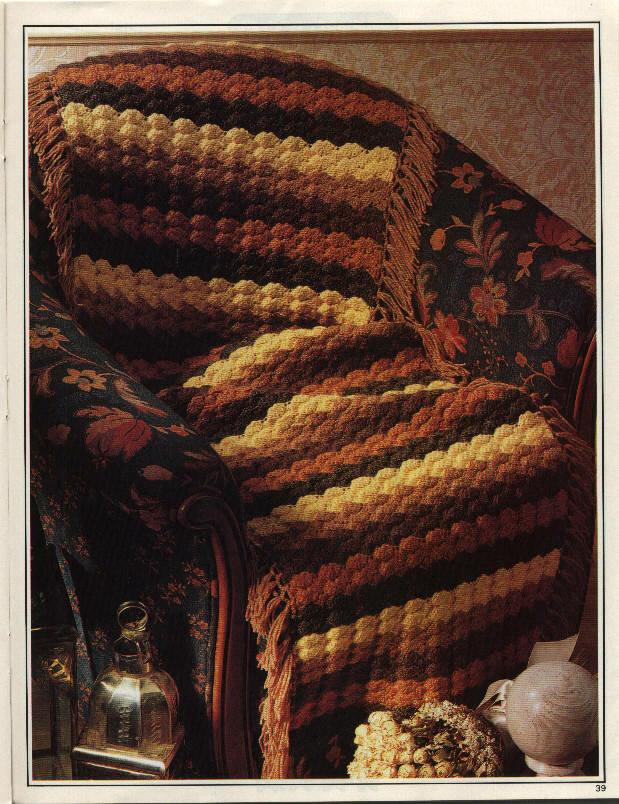 Вязание крючком на кресла 77