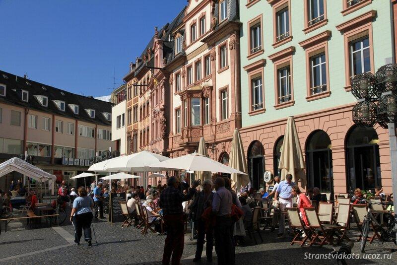 Германия, Майнц, Рыночная площадь