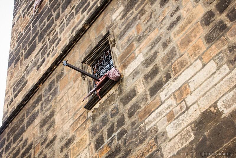 Окно в колокольне