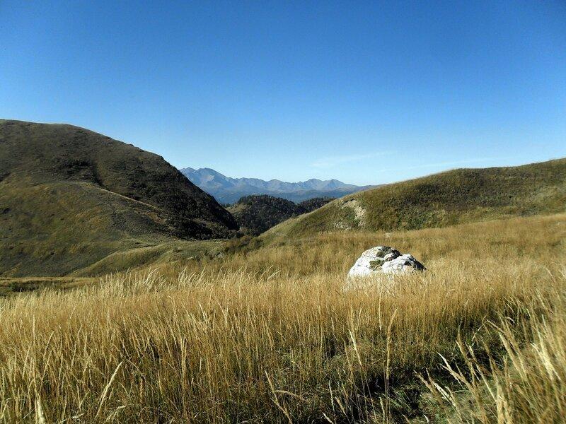 На Кавказе, осень, Тхач