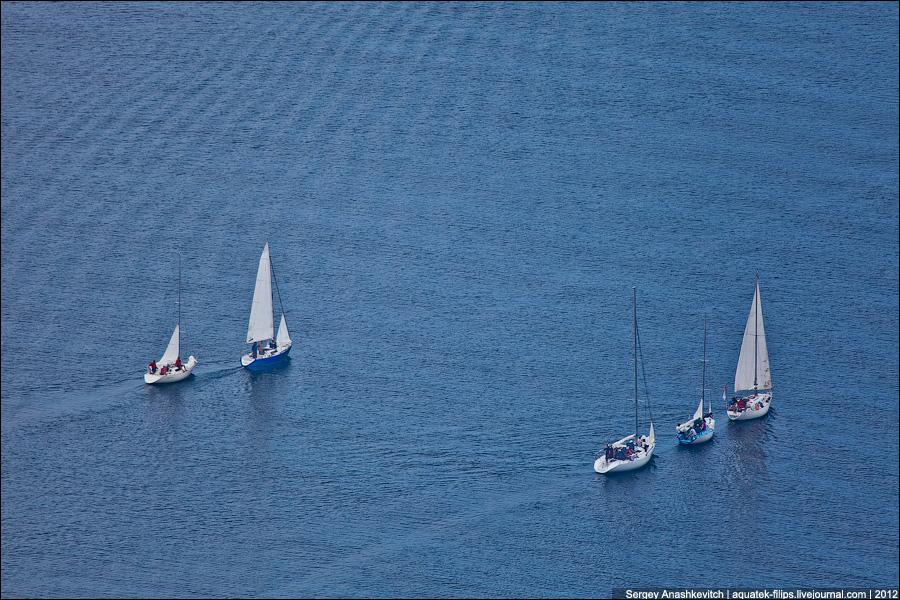Яхты и море