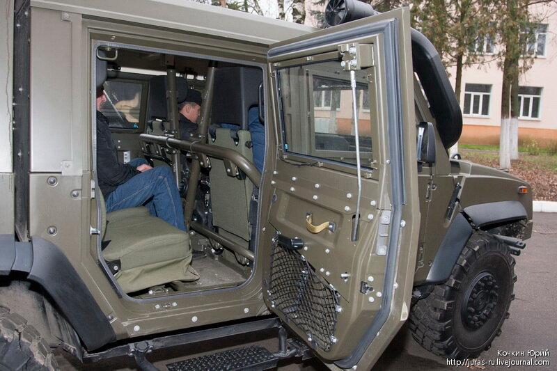 Защищенный автомобиль IVECO. Технический облик военного автомобиля многоцелевого назначения XXI века