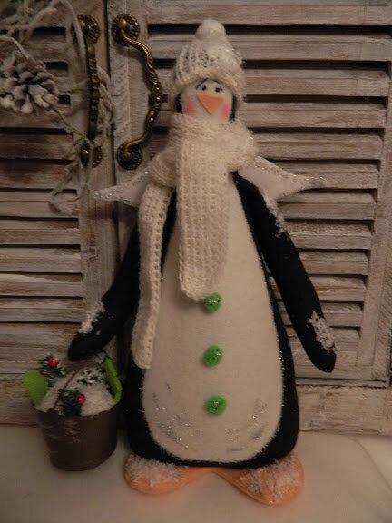 сшитый пингвин