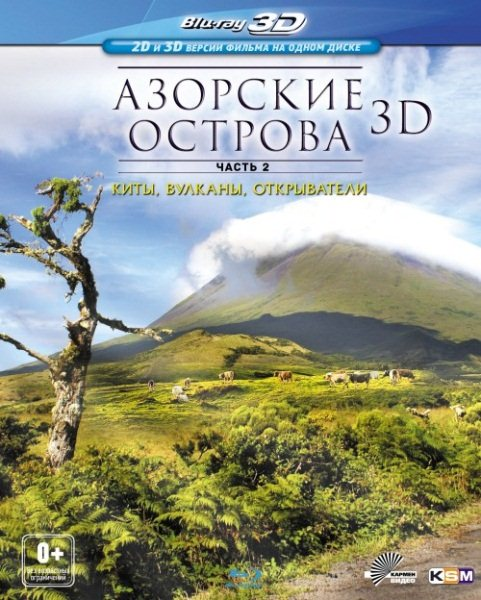 Азорские острова. Часть 2: Киты, вулканы, открыватели / Azores: Sharks, Whales, Manta Rays (2011) BDRip 1080p + HDRip