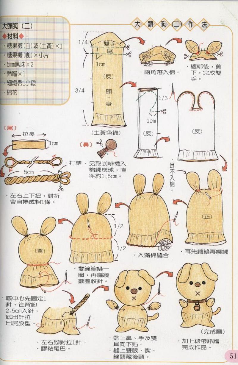 Пошаговая инструкция игрушки из носков своими руками