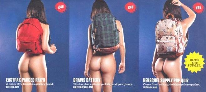 Реклама рюкзаков
