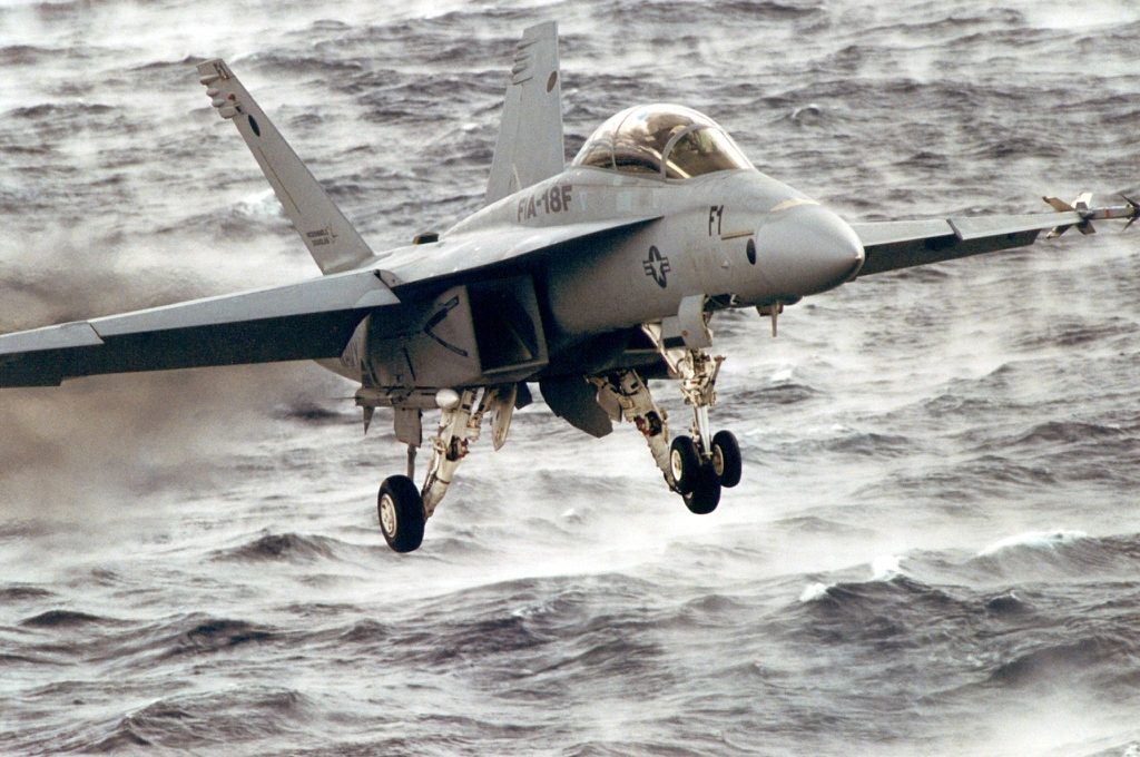 SUPER HORNET GOES TO SEA