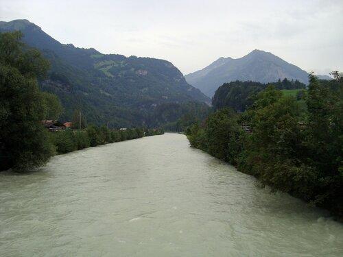 Река Ааре (Aare), Швейцария