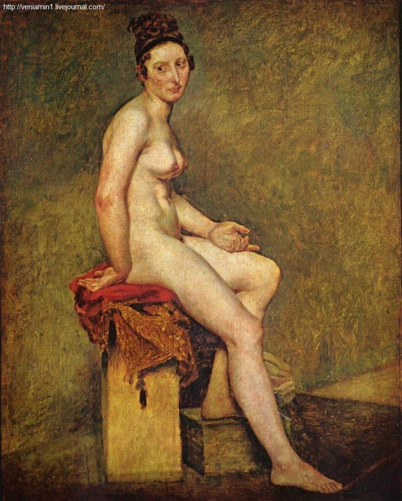 Мадемуазель Роз (1817-1824) Делакруа, Эжен.(1798 — 1863)