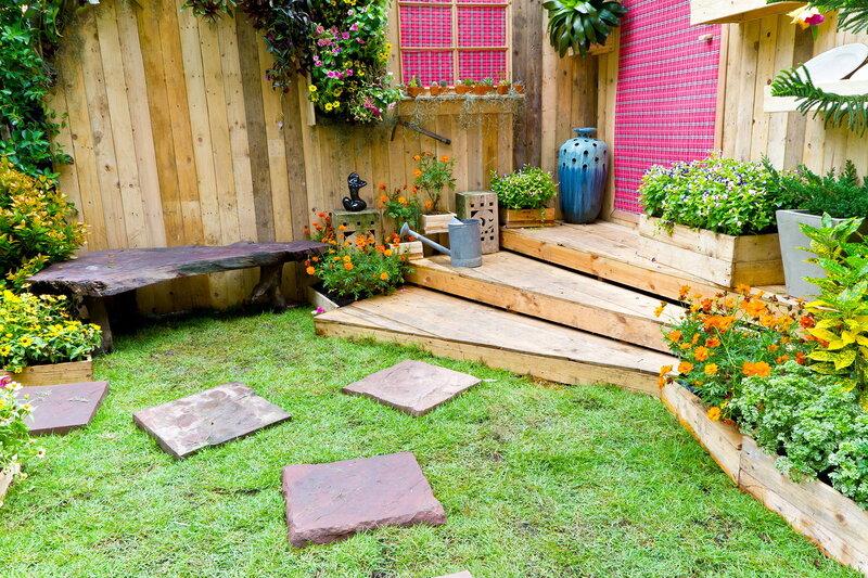 Садовый интерьер фото