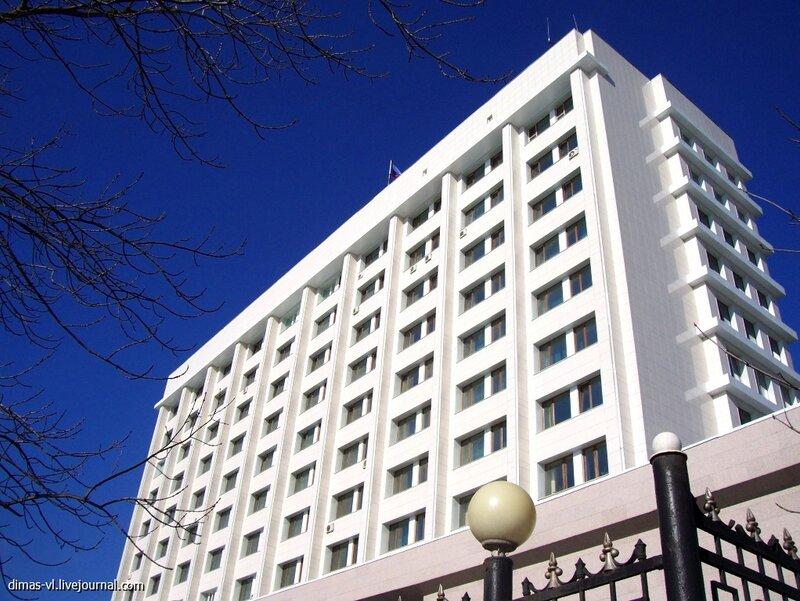 Штаб ТОФ после реконструкции. 21-ноября-2012г