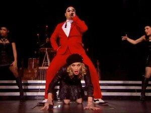 Мадонна станцевала знаменитый «Gangnam Style»