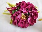 Цветы из кожи кВодопровод в своем доЗвуковые