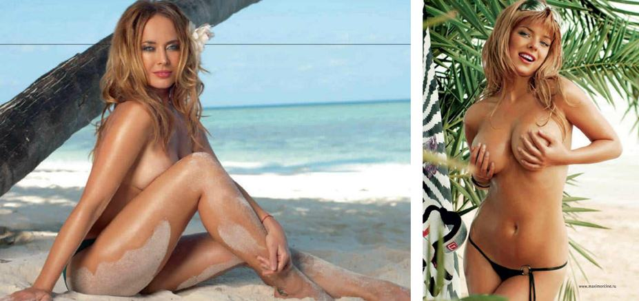 Жанна Фриске, Анна Старшенбаум - 100 самых сексуальных женщин страны - Россия Maxim hot 100