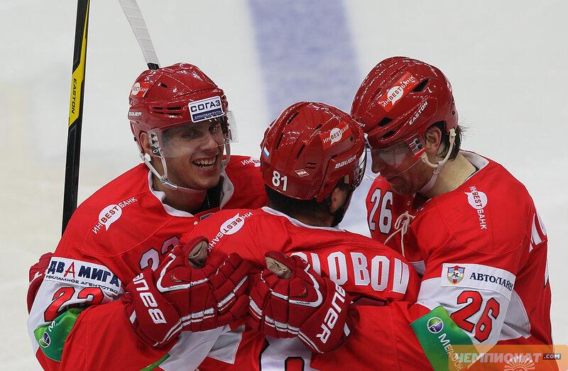 «Спартак» vs «Салават Юлаев» 2:3 Б чемпионат КХЛ 2012-2013 (Фото)
