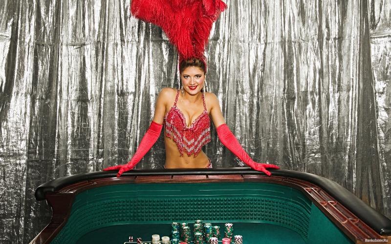 Секс с девушкой крупье в казино видео